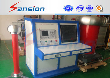 China LCD Display Partial Discharge Test Kit Withstand Voltage Used For Transformer supplier