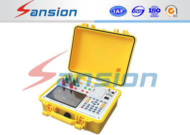 China Fully Automatically Transformer Test System , 100% Accuracy Transformer Capacity Tester supplier