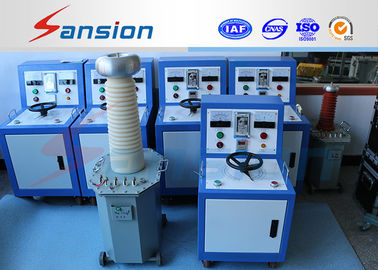China SXTC Series 10kVA 100kV AC Hipot Test Equipment Needle Display Vacuum Pouring supplier