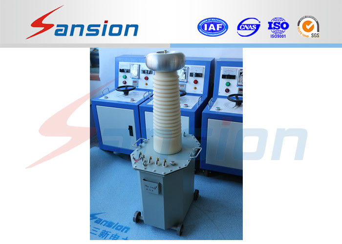 Oil Immersed Type High Voltage AC Test Equipment With ISO Certification