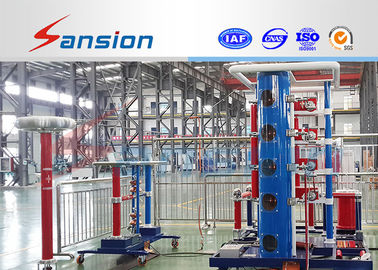 Automatic 400KV / 40KJ HV Impulse Voltage Test System Generator IEC Standard