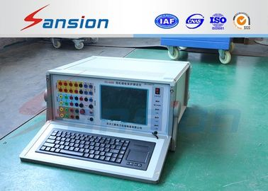 China Micro Computer Controlled Relay Protection Tester , Six Phase Protective Relay Test Set distributor