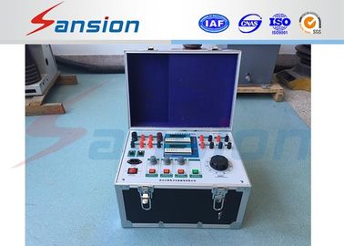 China Safe Reliable Single Phase Protection Relay Test Equipment Manual Control factory