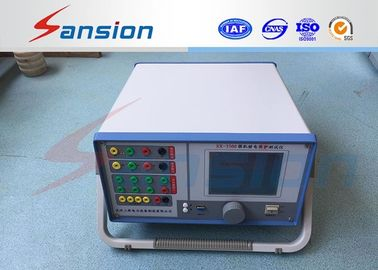 China 4 Phases Voltage 3 Phases Current Relay Protection Tester Identify Automatically distributor