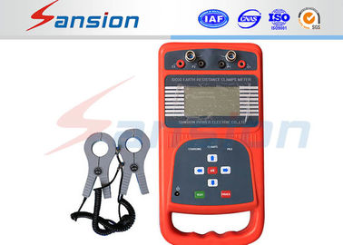 China High Resolution Earth Insulation Tester Wide Range Measuring With Anti Explosion Carrycase factory