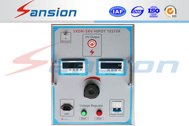 China Large Capacity Dc Power Testing System , Strong Anti Interference Hipot Test Set factory