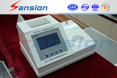 China Oil Power Supply Test Equipment Dew Point Tester Ac220v Computer Control factory