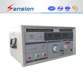 China Two Displays Low Voltage Insulation Tester Dielectric Withstand Test distributor