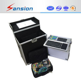 China Micro - Computer Controlled Relay Protection Tester Self Calibration With Six Phase distributor