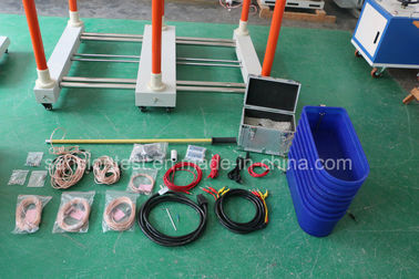 China Automatic Insulated Boots Ac High Voltage Test Set With Large Lcd Touch Screen distributor